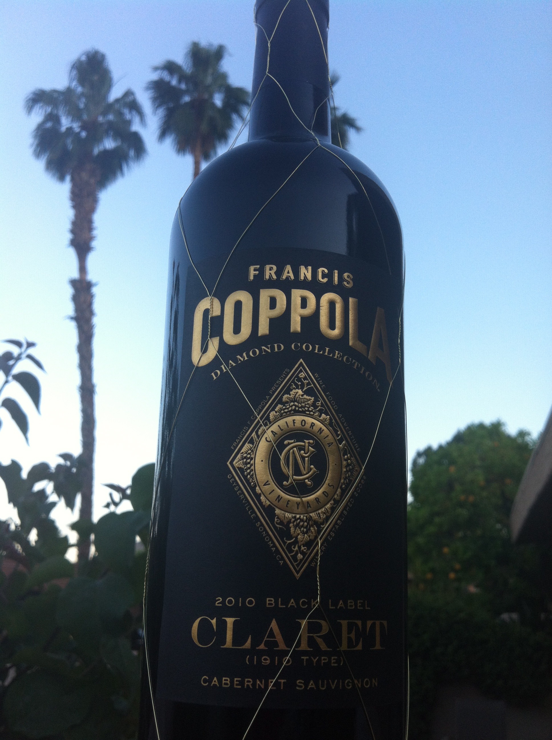 It is an image of Shocking Francis Coppola Gold Label Chardonnay
