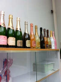 A small selection of Lanson Champagne!
